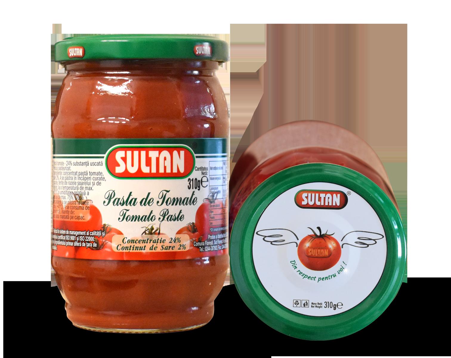 Pastă tomate Sultan 310g