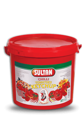 Ketchup picant Sultan 5kg