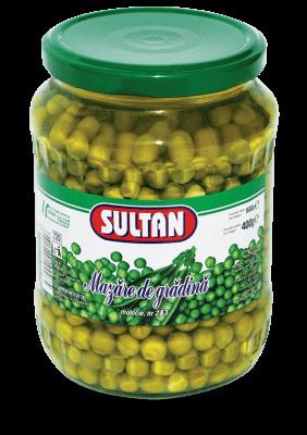 Garden Peas Sultan, 720 grams
