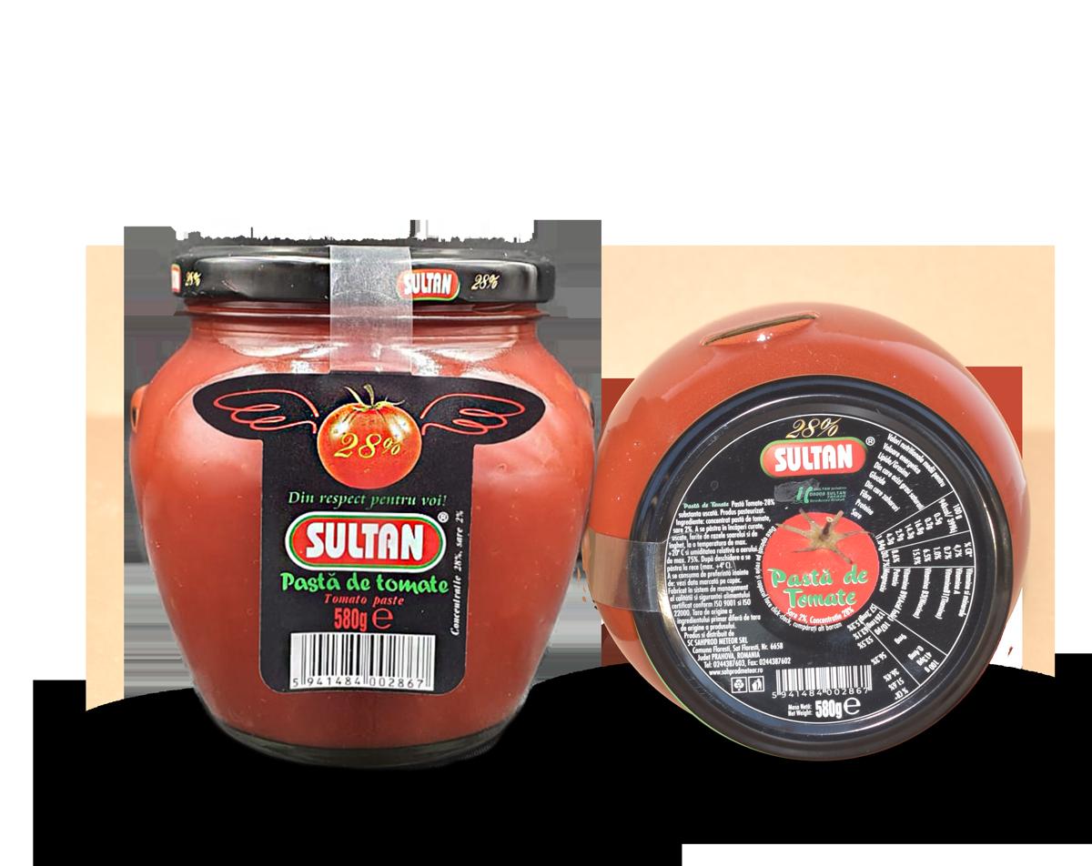 Pastă tomate Sultan 580g