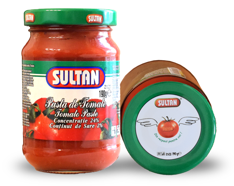 Tomato Paste Sultan, 190 grams