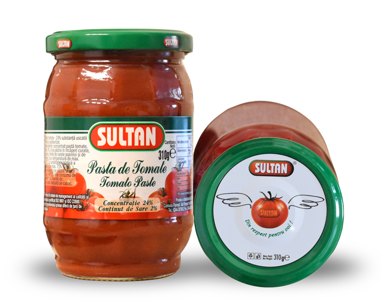 Tomato Paste Sultan, 310 grams