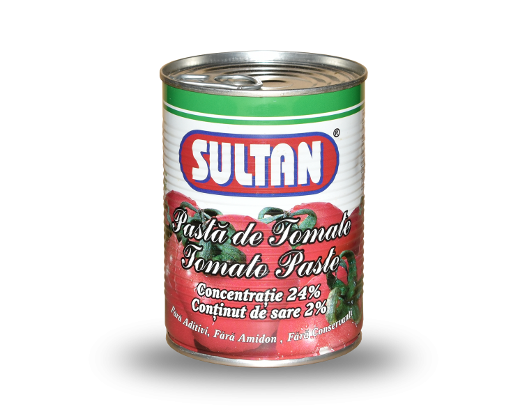 Tomato Paste Sultan, 400 grams