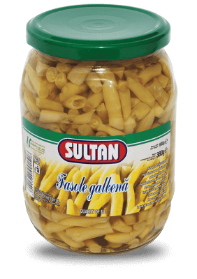 Yellow beans Sultan, 720 grams