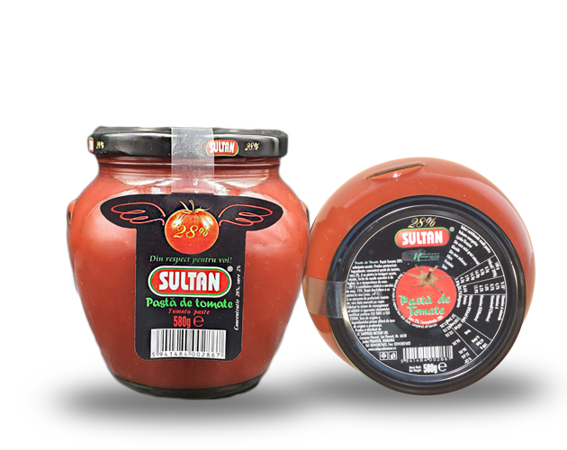 Tomato Paste Sultan, 580 grams